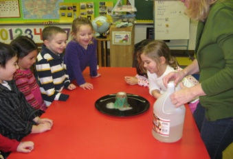 The UMC Nursery School's 'Science and Nature' Enrichment Program.